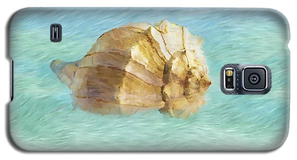 Galaxy S5 Case featuring the photograph Dancing With The Sea by Betty LaRue