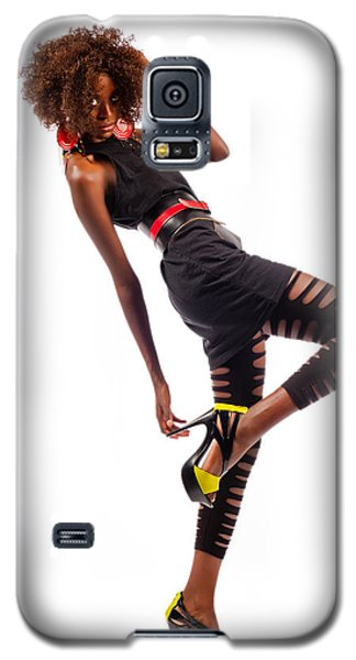 Dancing Woman Galaxy S5 Case