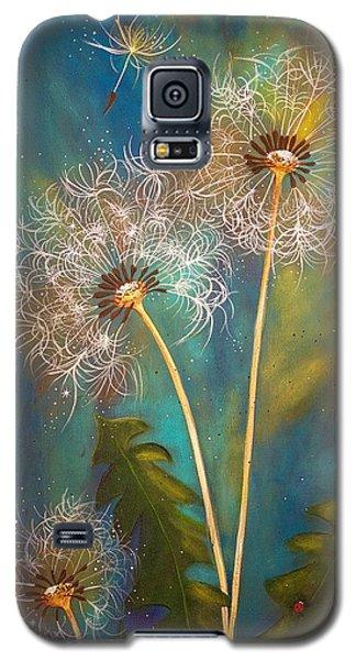 Dandelion Wishes Galaxy S5 Case by Deborha Kerr