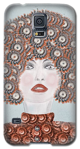 Galaxy S5 Case featuring the painting Dandy Moo by Bri B