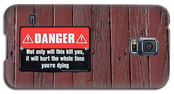 Danger Galaxy S5 Case