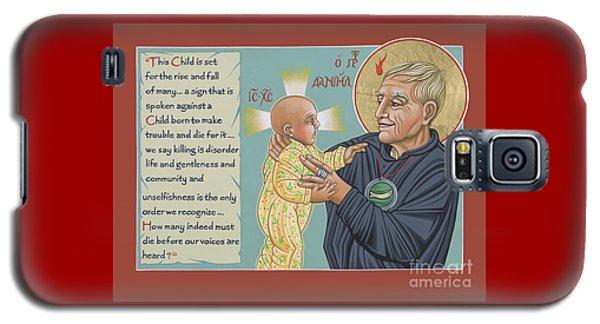 Holy Prophet Daniel Berrigan 291  Galaxy S5 Case