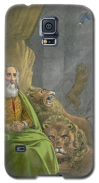 Dungeon Galaxy S5 Case - Daniel In The Lions' Den by Siegfried Detler Bendixen