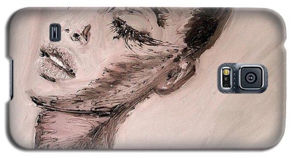 Galaxy S5 Case featuring the painting Dante's Prayer by Jarmo Korhonen aka Jarko