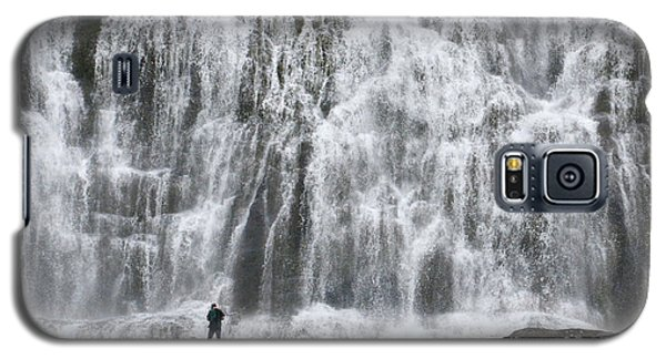 Galaxy S5 Case featuring the photograph Dynjandi Daredevil by Joe Bonita