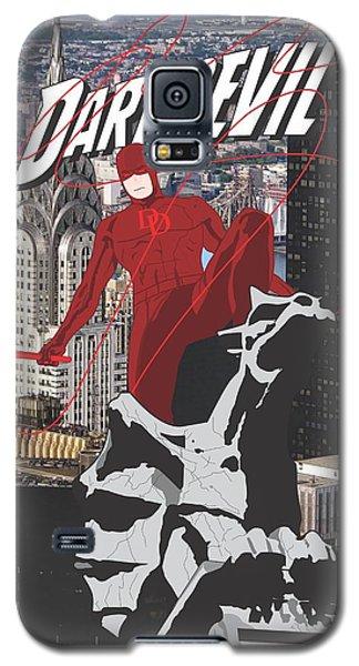 Ben Affleck Galaxy S5 Case - Daredevil by Troy Arthur Graphics