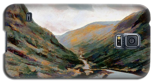 Dark And Moody Honister Pass In Cumbria Galaxy S5 Case