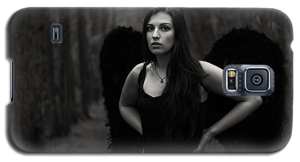 Galaxy S5 Case featuring the photograph Dark Angel by Brian Hughes