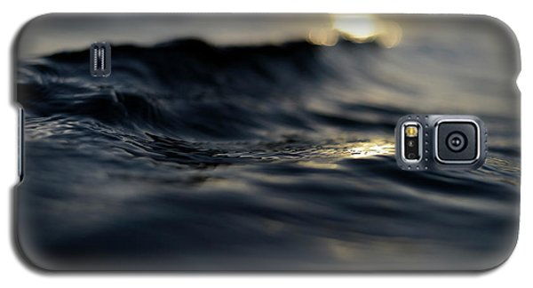 Galaxy S5 Case featuring the photograph Dark Atlantic Traces by Laura Fasulo