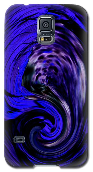 Dark Blue Egg Galaxy S5 Case