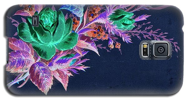 Dark Bouquet Galaxy S5 Case