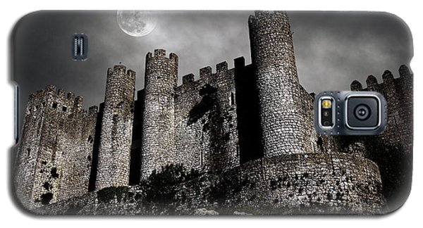 Moon Galaxy S5 Cases - Dark Castle Galaxy S5 Case by Carlos Caetano