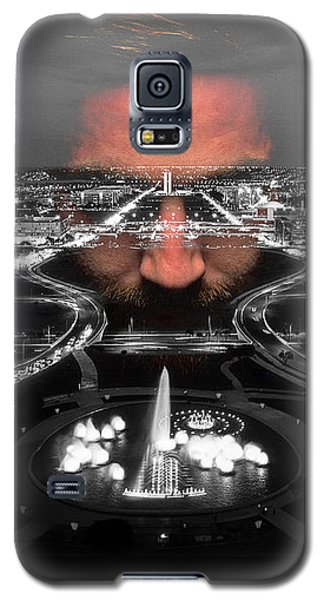 Dark Forces Controlling The City Galaxy S5 Case by ISAW Gallery