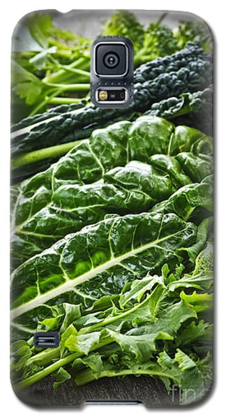 Dark Green Leafy Vegetables Galaxy S5 Case