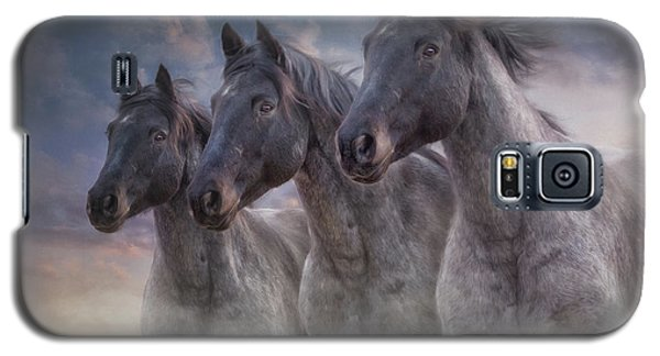 Dark Horses Galaxy S5 Case by Debby Herold