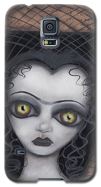 Dark Lily Galaxy S5 Case by Abril Andrade Griffith