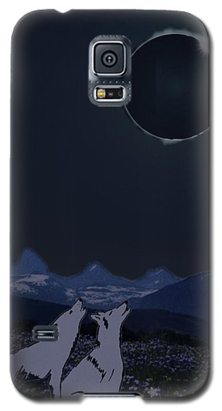 Dark Sky Eclipse Flare Galaxy S5 Case