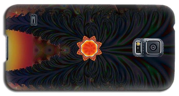Dark Space Fractal  Galaxy S5 Case