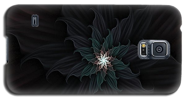 Dark Star Flower Galaxy S5 Case