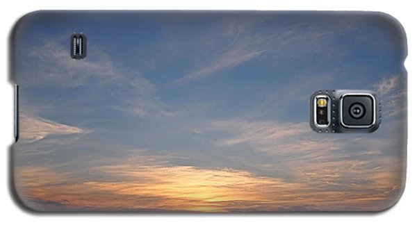 Galaxy S5 Case featuring the photograph Dark Sunrise by  Newwwman