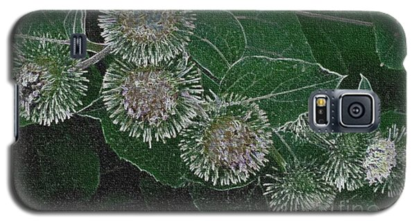 Dark Thistles Galaxy S5 Case