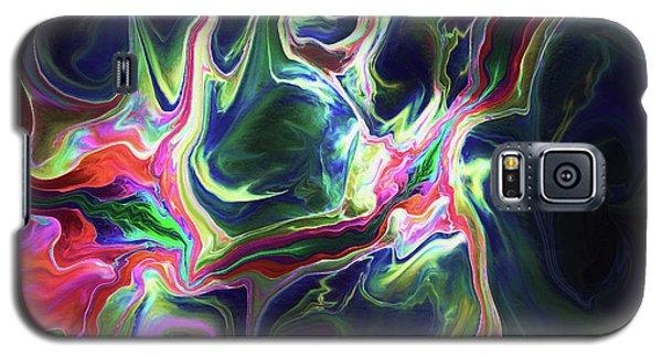 Galaxy S5 Case featuring the digital art Dark To Light by Deborah Benoit