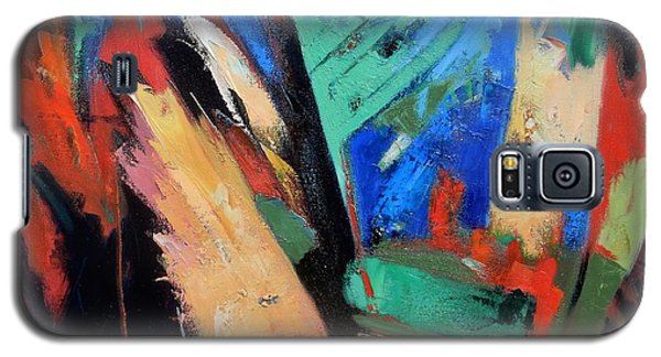 Galaxy S5 Case featuring the painting Darkness And Light by Gary Coleman