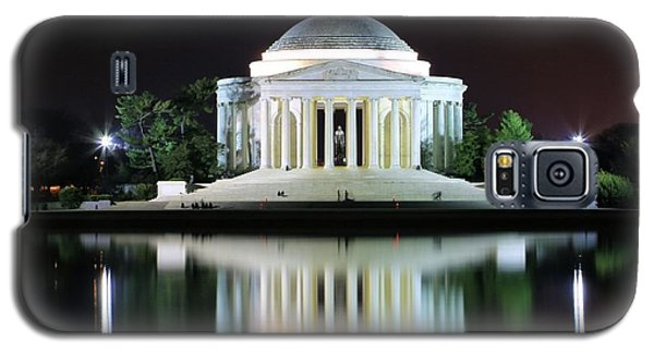 Darkness Over The Jefferson Memorial Galaxy S5 Case