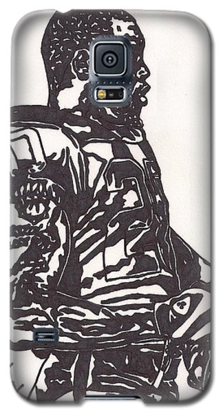 Galaxy S5 Case featuring the drawing Darren Mcfadden 1 by Jeremiah Colley