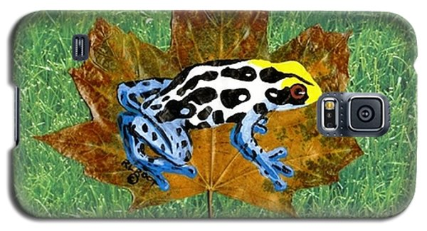 Dart Poison Frog Galaxy S5 Case