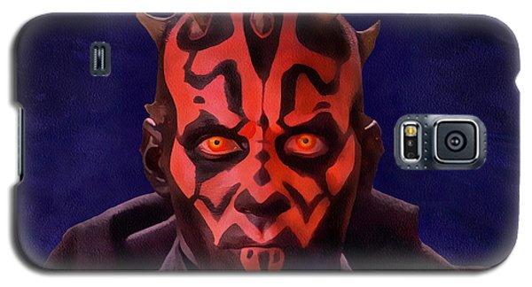 Darth Maul Dark Lord Of The Sith Galaxy S5 Case by Sergey Lukashin