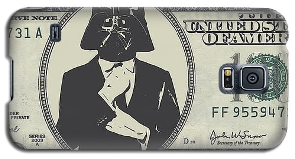 R2-d2 Galaxy S5 Case - Darth Vader Money by Dan Sproul