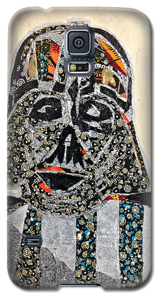 Galaxy S5 Case featuring the tapestry - textile Darth Vader Star Wars Afrofuturist Collection by Apanaki Temitayo M