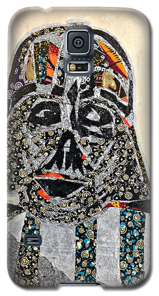 Darth Vader Star Wars Afrofuturist Collection Galaxy S5 Case by Apanaki Temitayo M