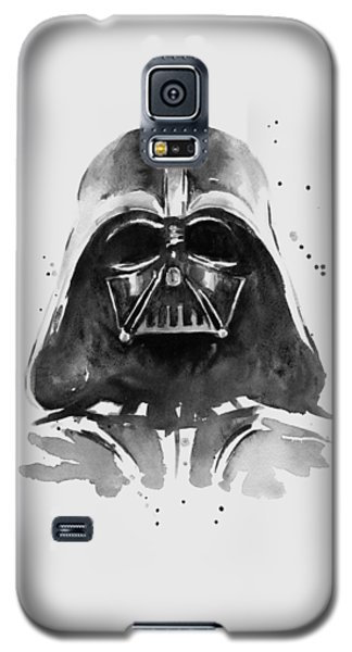 Darth Vader Watercolor Galaxy S5 Case by Olga Shvartsur