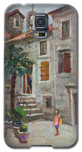 Dasha In The Old Town Galaxy S5 Case