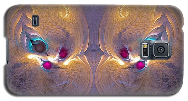 Daughters Of The Sun - Surrealism Galaxy S5 Case by Sipo Liimatainen