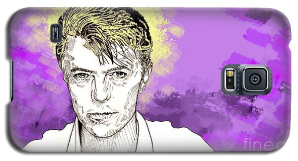 David Bowie Galaxy S5 Case by Jason Tricktop Matthews
