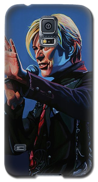 David Bowie Live Painting Galaxy S5 Case