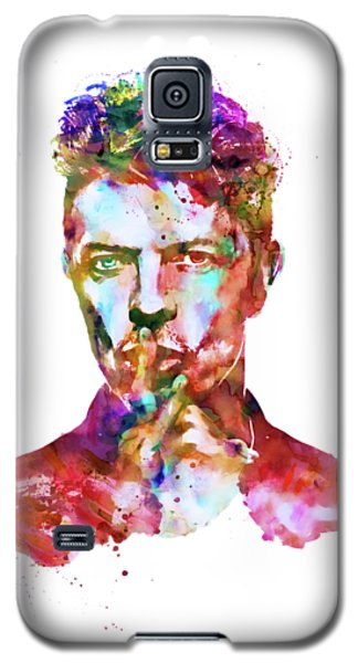 David Bowie  Galaxy S5 Case by Marian Voicu
