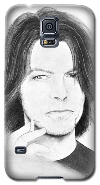 David Bowie - No Pressure Galaxy S5 Case