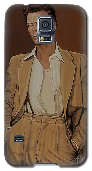 David Bowie Four Ever Galaxy S5 Case by Paul Meijering