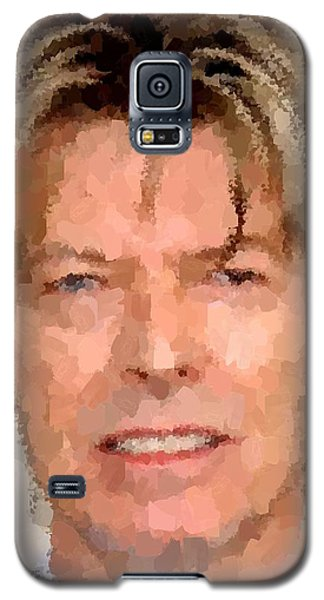 David Bowie Portrait Galaxy S5 Case