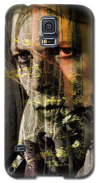 David Bowie / The Man Who Fell To Earth  Galaxy S5 Case by Elizabeth McTaggart