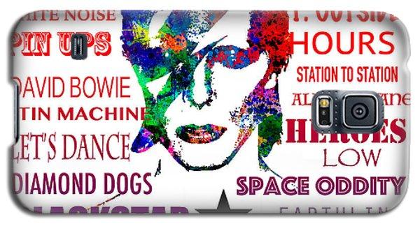 David Bowie Tribute Galaxy S5 Case