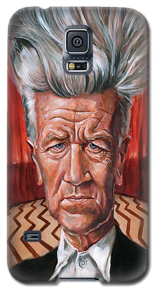 David Lynch Galaxy S5 Case by Mark Tavares