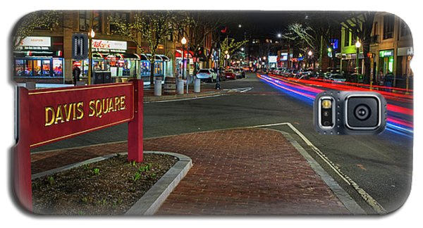 Davis Square Sign Somerville Ma Mikes Galaxy S5 Case