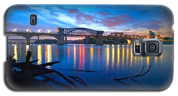 Dawn Along The River Galaxy S5 Case by Steven Llorca