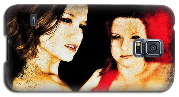 Dawn And Ryli 1 Galaxy S5 Case by Mark Baranowski