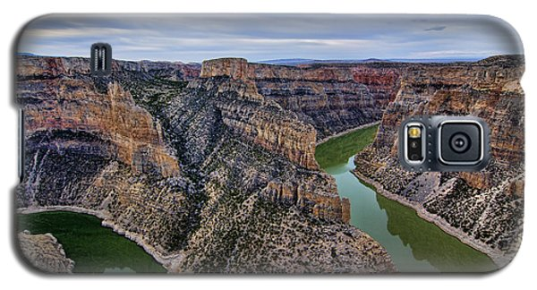 Dawn At Devils Overlook Bighorn Canyon Galaxy S5 Case